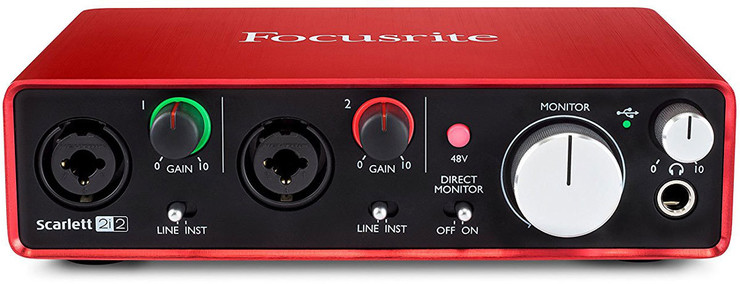 Focusrite Scarlett 2i2 2nd Gen 1