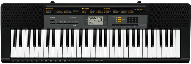 Casio CTK-2500 0