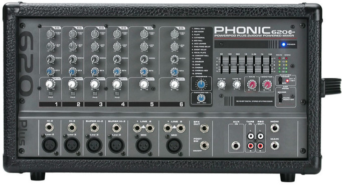 Phonic Powerpod 620 Plus 0