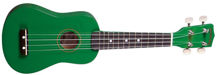 Diamond Head DU-105 Green 0