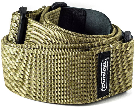 Dunlop D27-01OL Ribbed Cotton Olive Green 1