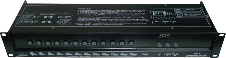 Ross DMX Switch 12