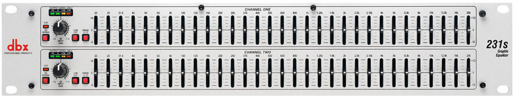 DBX 231s Graphic Equalizer 0