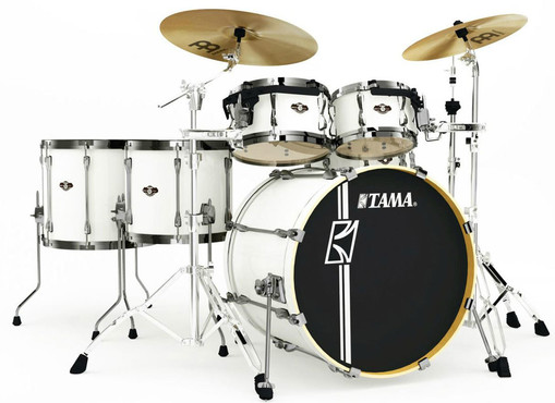 Tama Superstar Hyper-Drive Maple MK52HLZBNS-SGW Sugar White 0