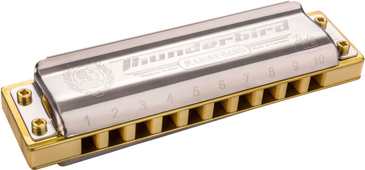 Hohner M201175 Marine Band Thunderbird Low Low F 0