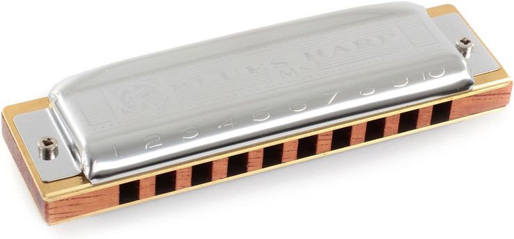 Hohner M533116 Blues Harp 532/20 MS Bb 0