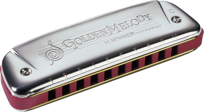 Hohner M542066X Golden Melody 542/20 F 0