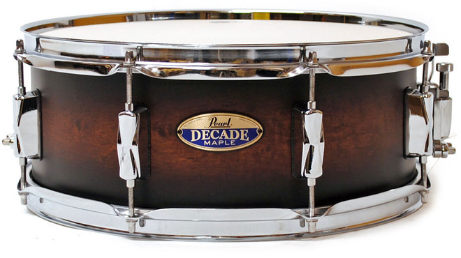 Pearl Decade Maple DMP1455S/C260 Satin Brown Burst 0