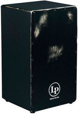 Latin Percussion LP1428NYBS Americana Black Box String Cajon 0
