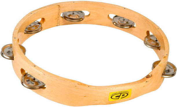 Latin Percussion CP389 CP 10 Tambourine Single Row 0