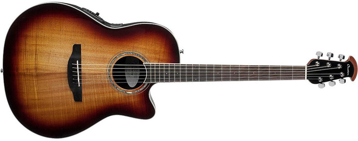 Ovation CS28P-KOAB Celebrity Standard Plus Super Shallow Koa Burst 0