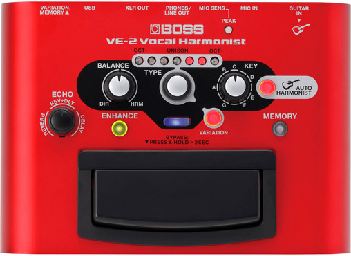 Boss VE-2 Vocal Harmonist 0