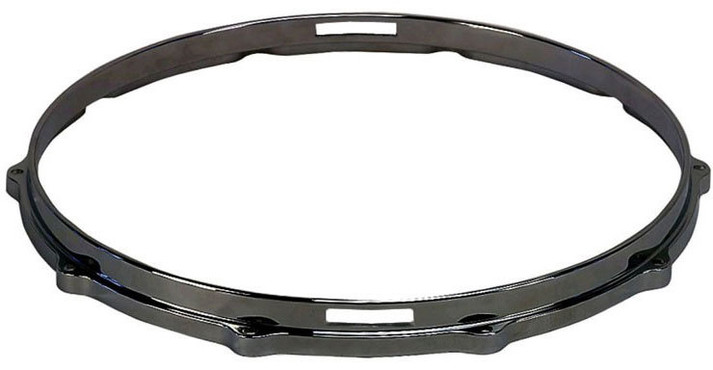 Dixon 14'' Die Cast Snare Lower Hoop Black Chrome 0