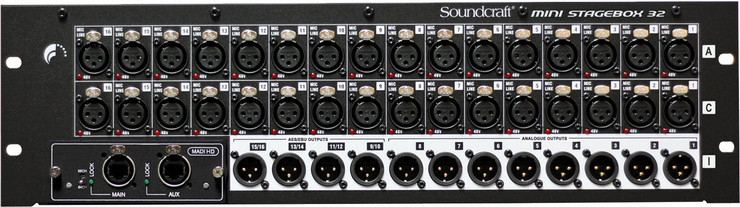 Soundcraft MSB-32 Cat5 Mini Stagebox 32 0
