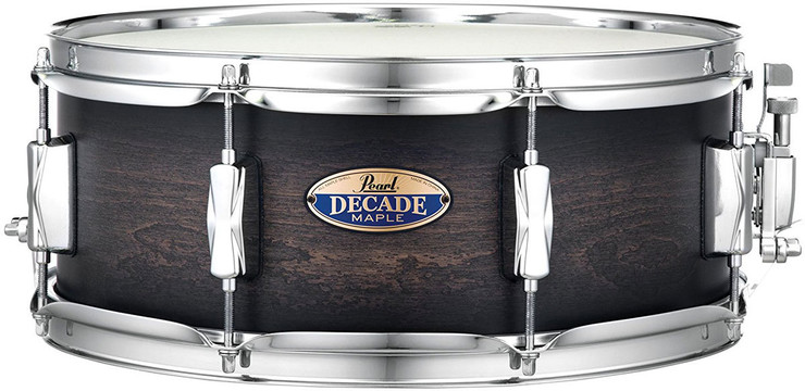 Pearl Decade Maple DMP1455S/C262 Satin Black Burst 0