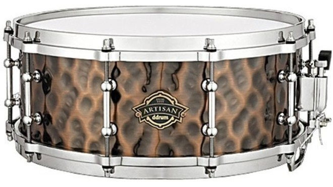 DDrum Artisan Hammered Iron Snare 0