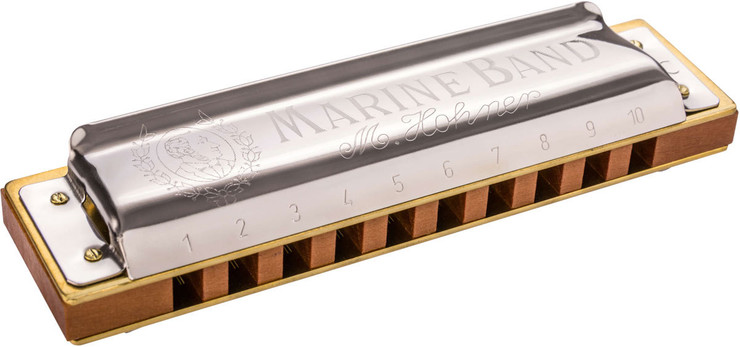 Hohner M1896506X Marine Band 1896/20 A Natural Minor 0