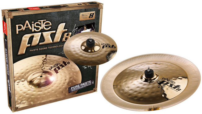Paiste PST 8 Rock Effects Pack (10/18) 0
