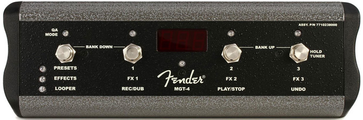 Fender MGT-4 Footswitch 0