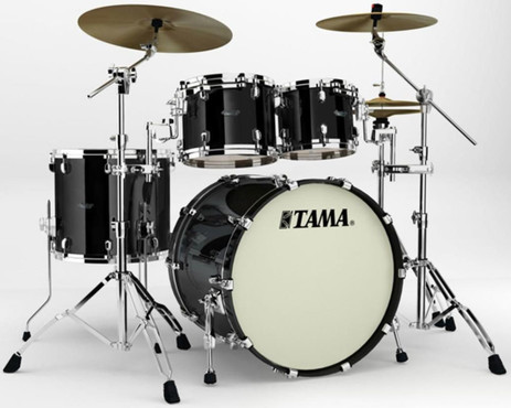 Tama Starclassic Maple SM42ZS-PBK Piano Black 0