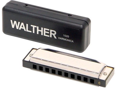 Walther 798505 Harmonica Richter Model C 0