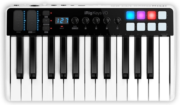 IK Multimedia iRig Keys I/O 25 0