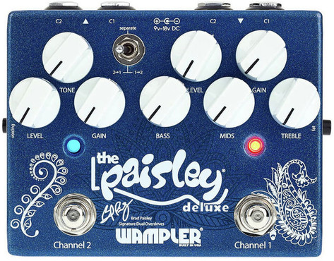 Wampler Pedals Paisley Deluxe 0