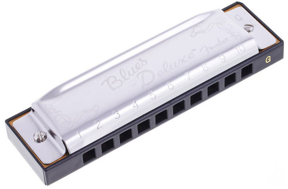 Fender Blues Deluxe Harmonica G 2