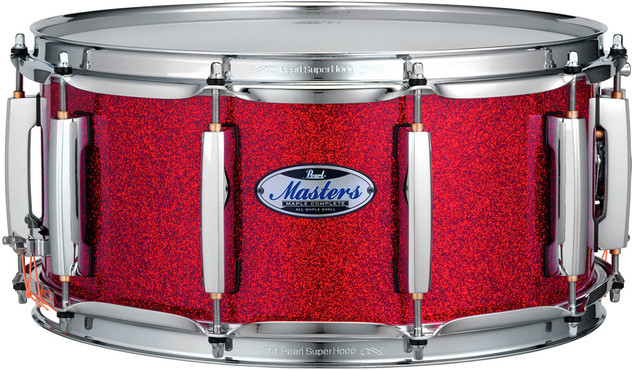 Pearl Masters Maple Complete MCT1465S/C319 Inferno Red Sparkle 0