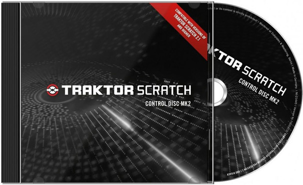 Native Instruments Traktor Scratch Pro Timecode CD mk2 0