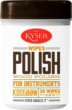 Kyser KDS500W Guitar Polish Wipes 0