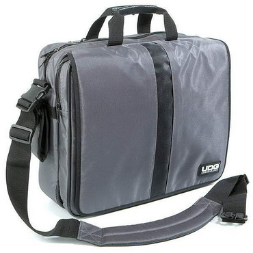 UDG Ultimate CourierBag Steel Grey, Orange Inside 0