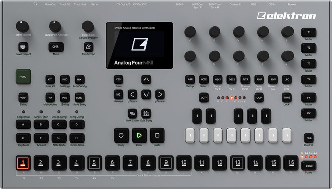 Elektron Analog Four MKII 0