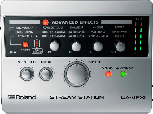Roland UA-4FX2 Stream Station 1