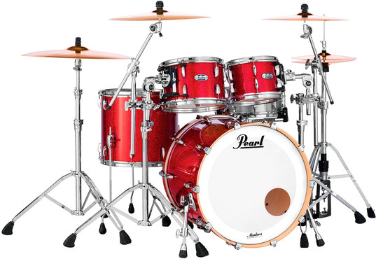 Pearl Masters Maple Complete MCT904XEP/C319 Inferno Red 0