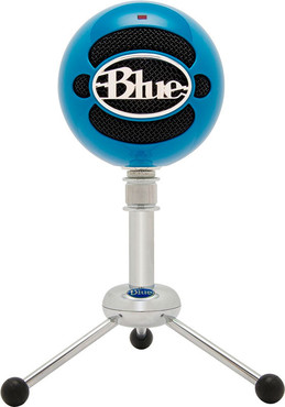 Blue Snowball Electric Blue 1