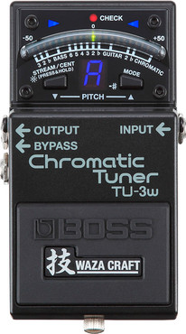 Boss TU-3W Chromatic Tuner Waza Craft 0