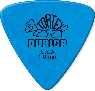 Dunlop 431P1.0 Tortex Triangle 6 Pack 0