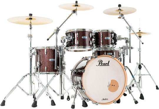 Pearl Masters Maple Complete MCT904XEP/C329 Burnished Bronze Sparkle 0
