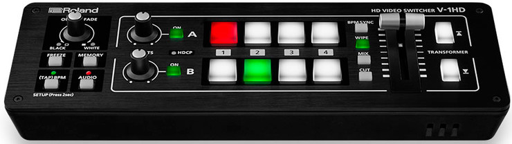 Roland V-1HD HD Video Switcher 0