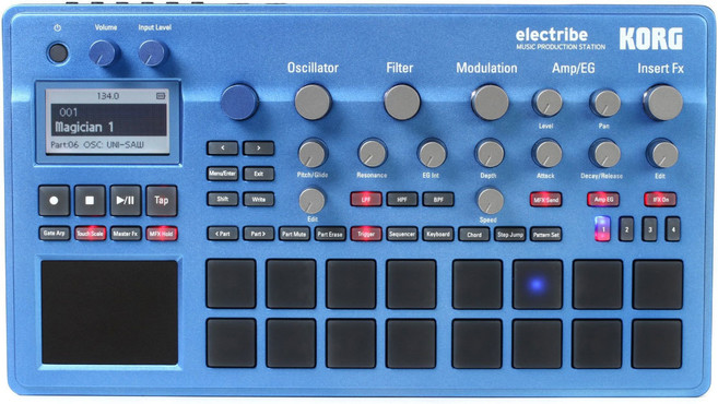 Korg Electribe 2 Blue 0