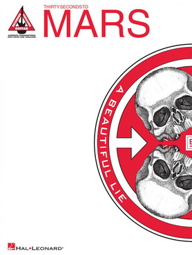 Hal Leonard HL00690891 - 30 Seconds to Mars A Beautiful Lie 0