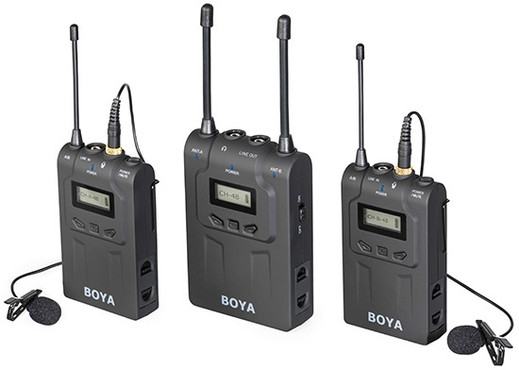 Boya BY-WM8 UHF 0