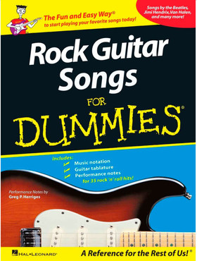 Hal Leonard HL00699766 - Rock Guitar Songs for Dummies 0