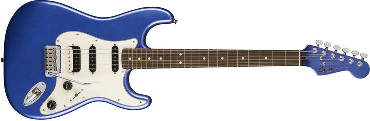 Fender Squier Contemporary Stratocaster HSS Rosewood Ocean Blue Metallic 0