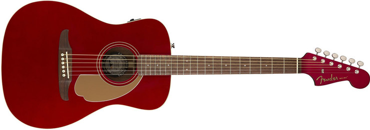 Fender Malibu Player Candy Apple Red 0