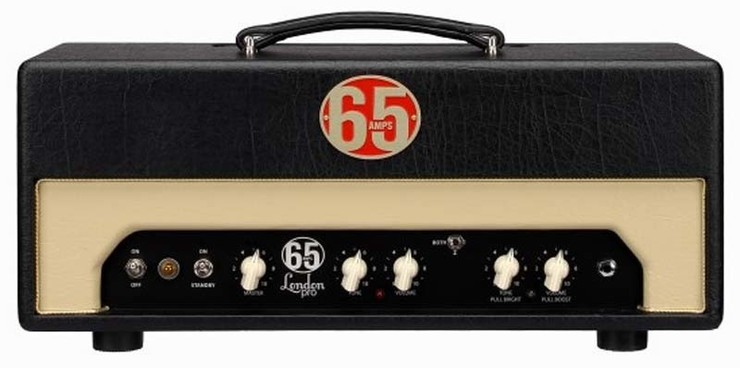 65Amps London Pro Head Red 0