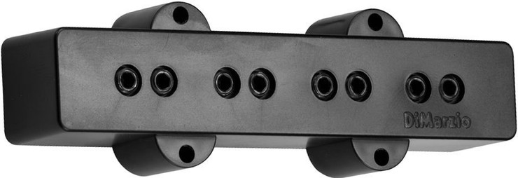 DiMarzio Model J Bridge DP123LBK 0