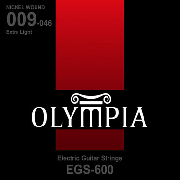 Olympia Nickel Wound Extra Light EGS600 (9-46) 0