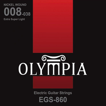 Olympia Nickel Wound Extra Super Light EGS860 (8-38) 0